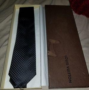 Brand New Louis Vuitton Micro Damier Tie